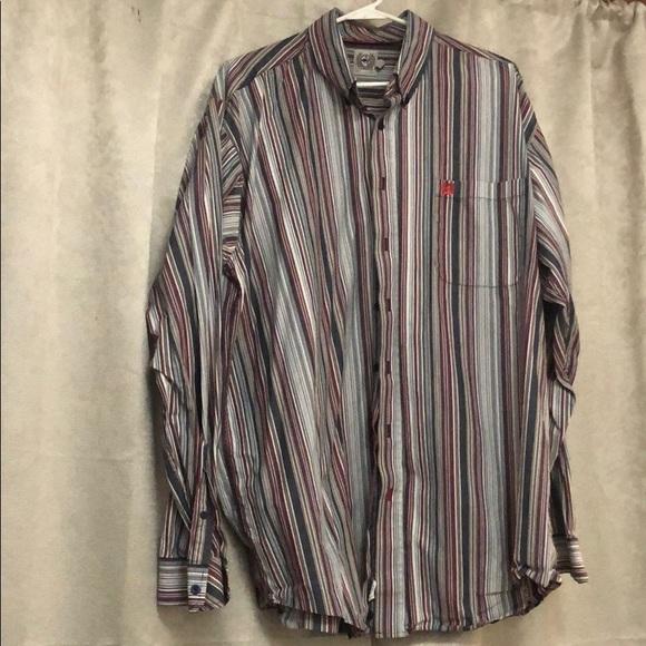 Mens Cinch long sleeve shirt